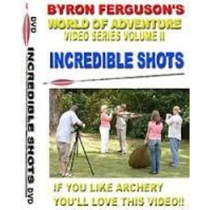 Byron Ferguson's Incredible Shots DVD