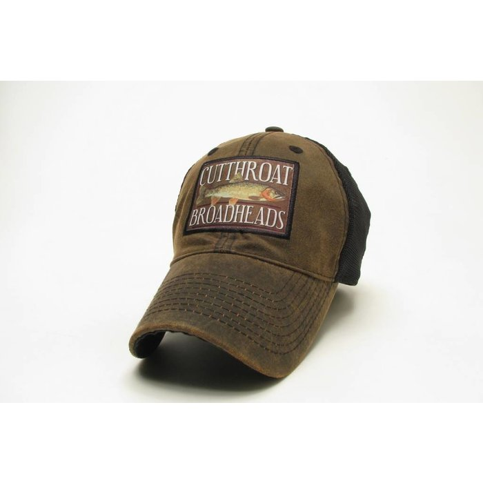 Cutthroat Broadheads Waxed Trucker Hat