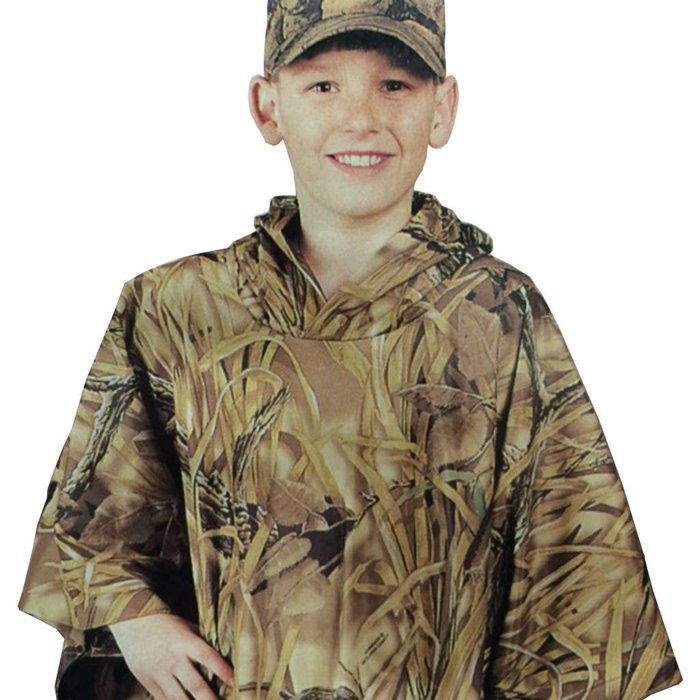Stearns Youth Poncho - Wetland