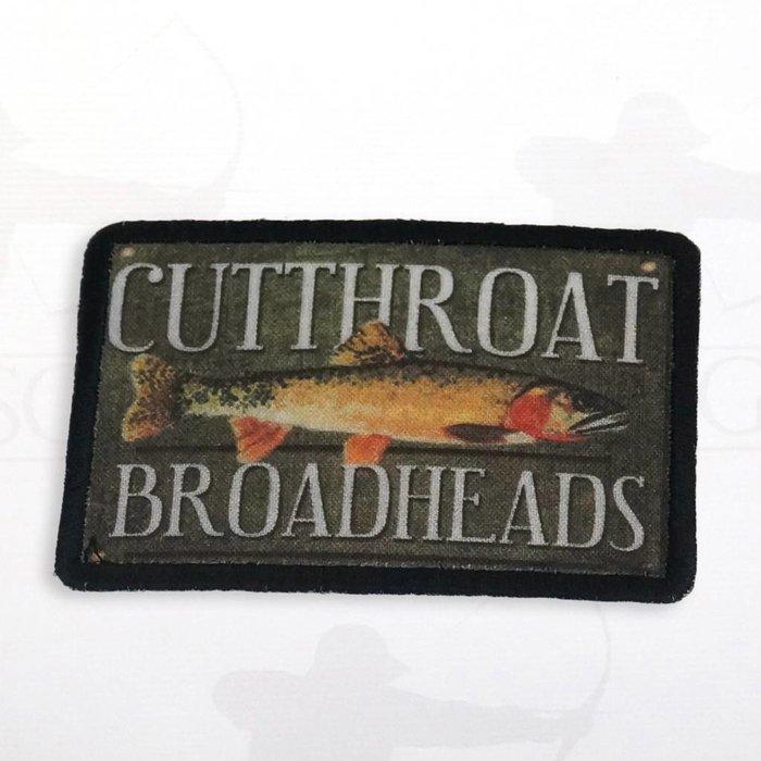 Cutthroat Broadheads Sew On Patch