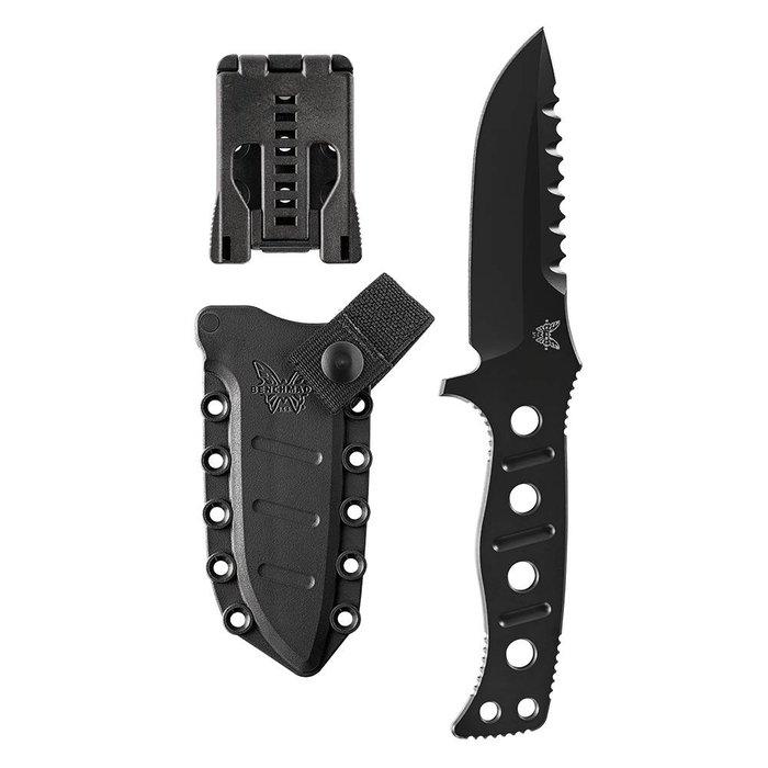 Benchmade 375BKSN Adamas Fixed Blade