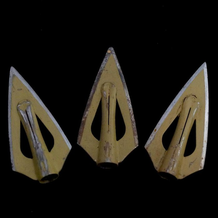 Used Bear Razorhead Broadheads - 3 Pack