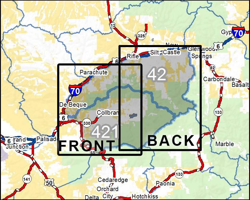DIY Hunting Maps DIY Hunting Map Colorado GMU RMSGear - Colorado hunting zone map