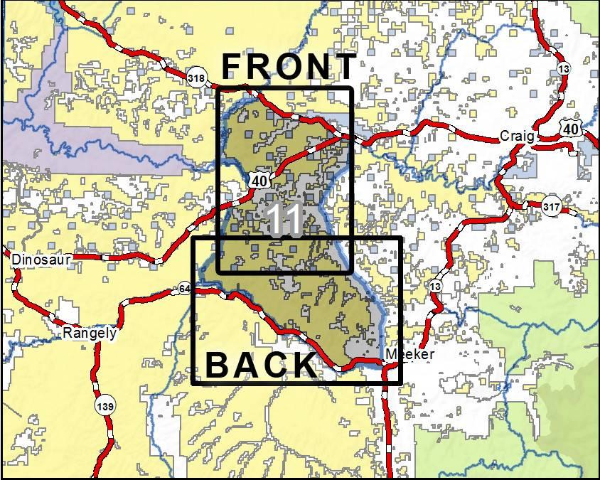 DIY Hunting Maps - Colorado GMU 11 - RMSGear