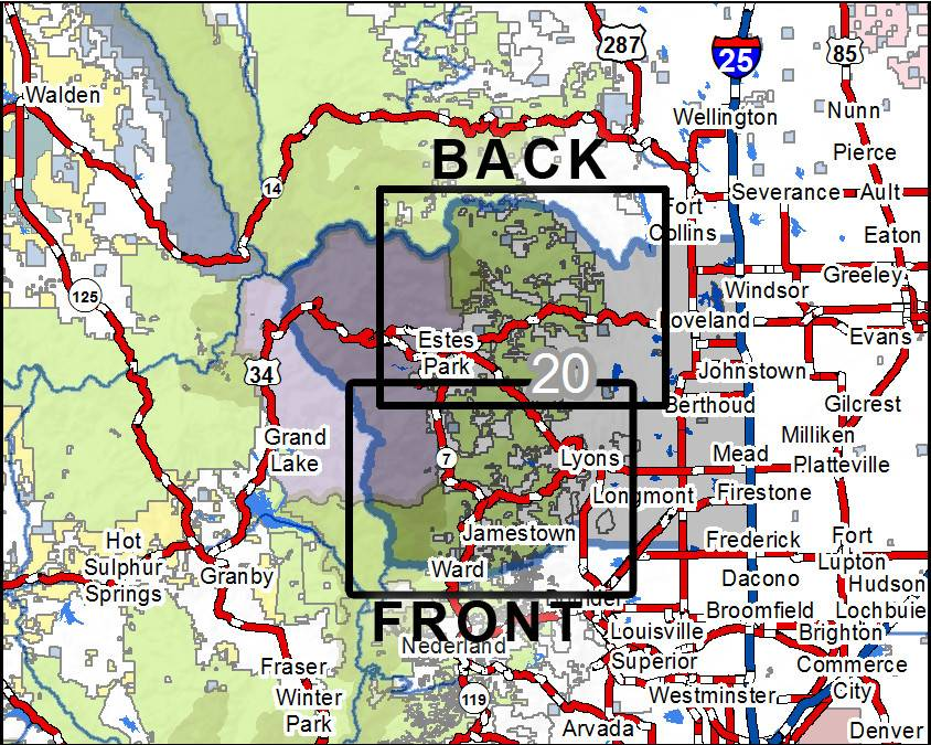 DIY Hunting Maps - Colorado GMU 20 - RMSGear