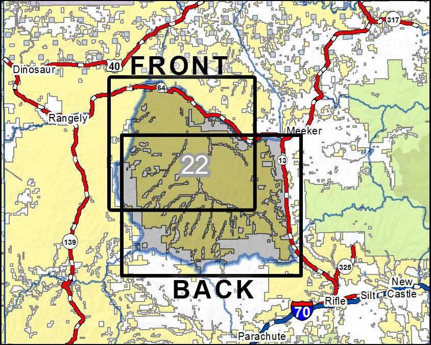 Colorado Gmu Maps Wa Folded Map Side With Colorado Gmu Maps Map - Colorado hunting zone map