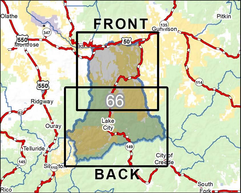 DIY Hunting Maps - Colorado GMU 66 - RMSGear