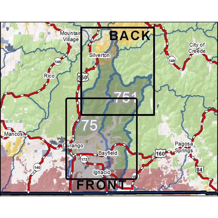 DIY Hunting Maps Colorado GMU RMSGear - Colorado hunting zone map