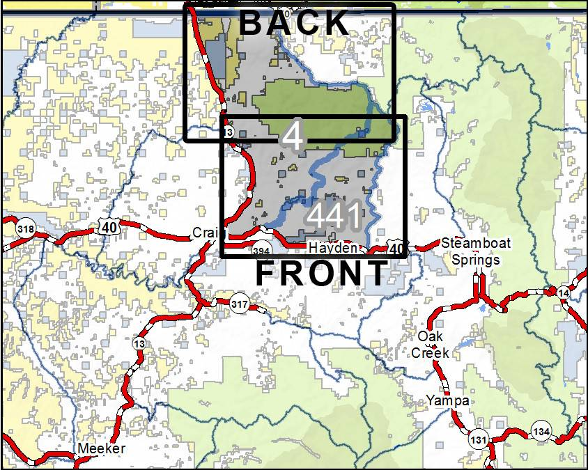 DIY Hunting Maps Colorado GMUs RMSGear - Colorado hunting zone map