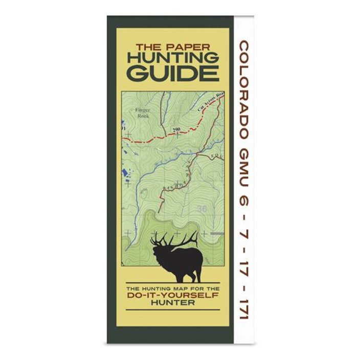 DIY Hunting Map - Colorado GMU's 6-7-17-171