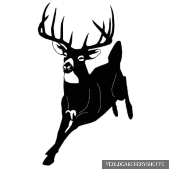 Running Buck 6x4 Decal