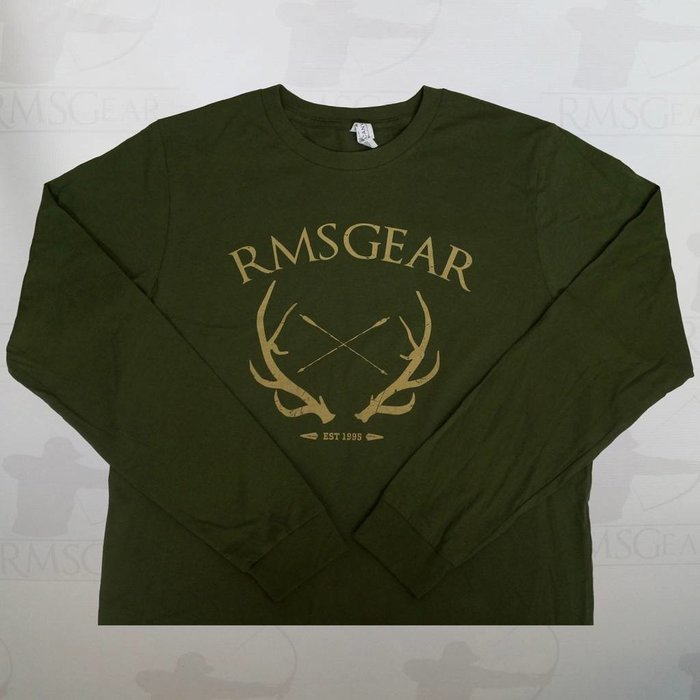 RMSGear Canvas Olive Long Sleeved Shirts