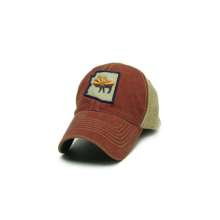 RutTuff Hat AZ Red