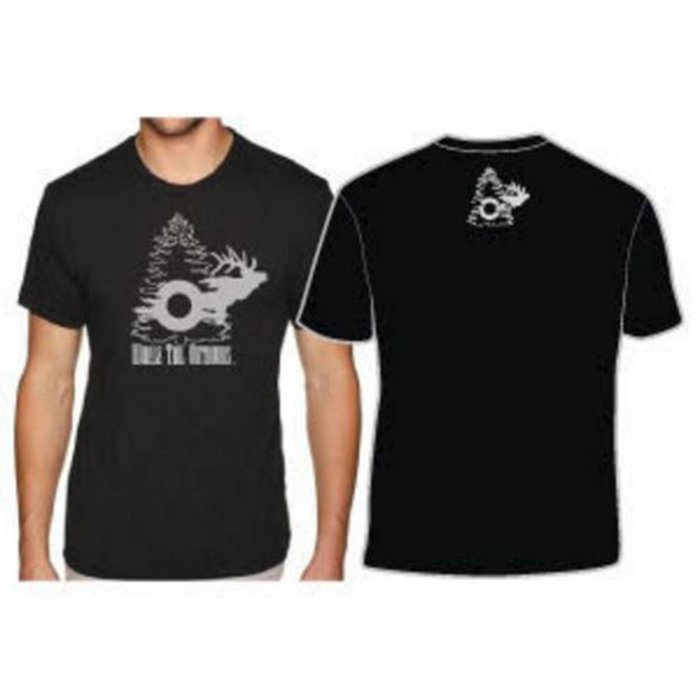 Whale Tail Outdoors T-Shirt - Black