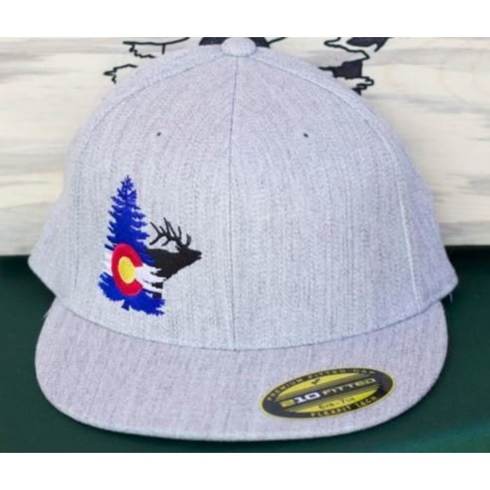 Whale Tail Outdoors Flex-Fit Hat