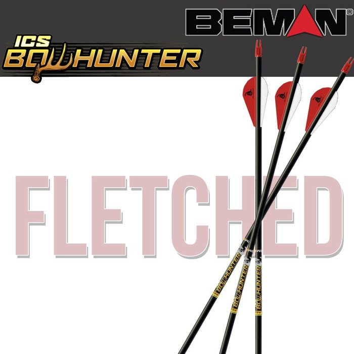 Beman ICS Bowhunter Fletched Arrows