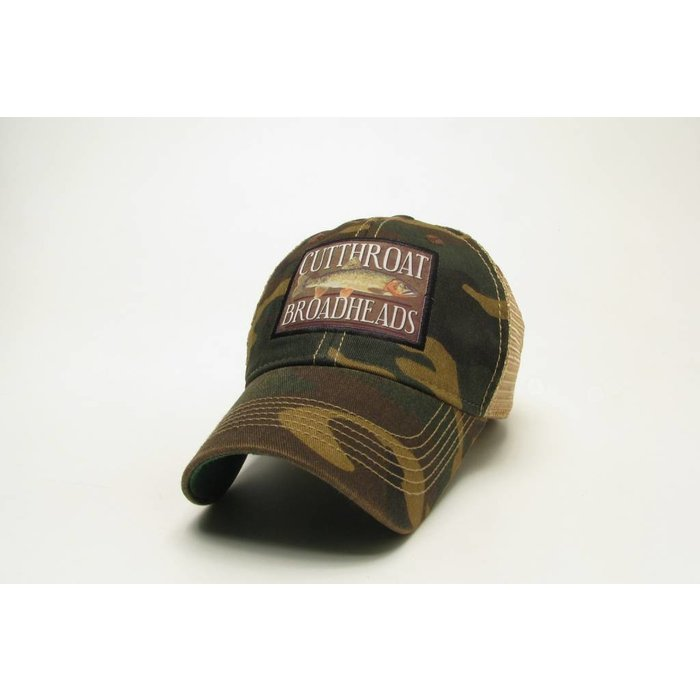 Cutthroat Broadheads Mesh Trucker Hat Camo
