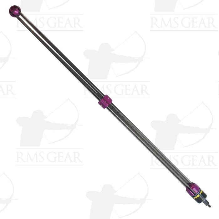 "Used - Super Stix Bow Stabilizer Purple 36"" - STAB1KN"