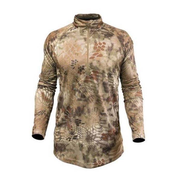Used - Kryptek Helios QZ LS Shirt - XS - Mandrake