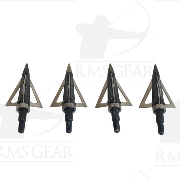 Used - 3 Blade Broadheads - 4 Pack - USEDBHKN