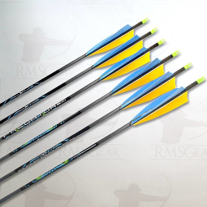 Carbon Express Predator Fletched Arrows
