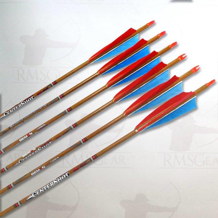 Beman Centershot Fletched Arrows