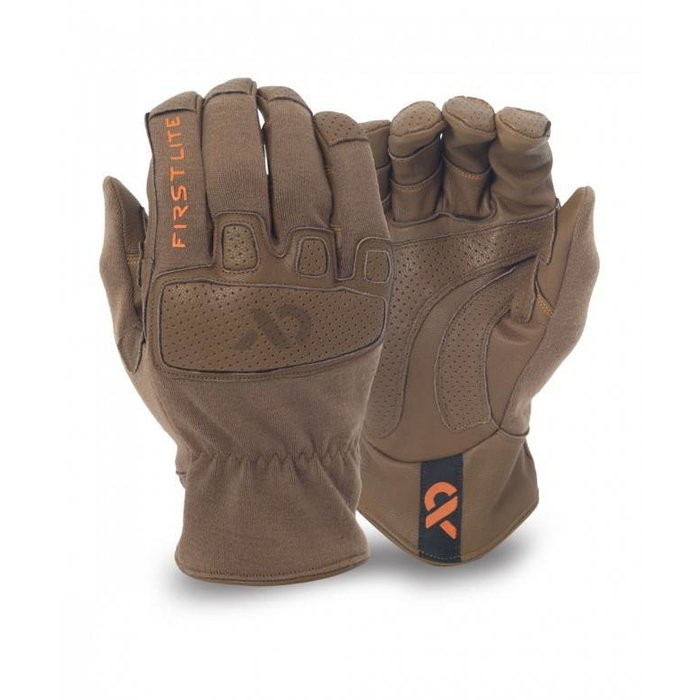 First Lite Shale Hybrid Gloves Dry Earth