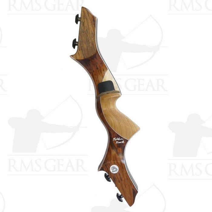 """Hawk Riser - 17"""" RH OD Tigerwood - 0385"""