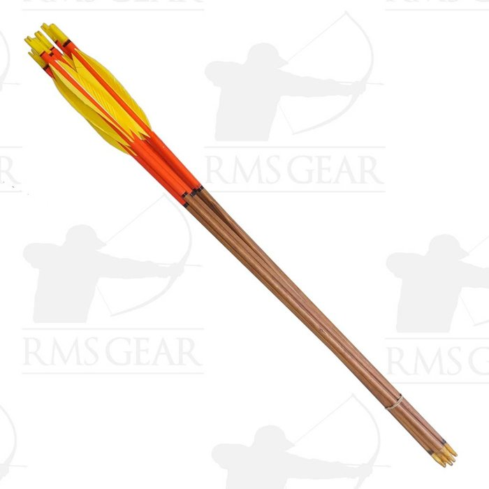 Used - 68# Fletched Wood Arrows - USED20PI