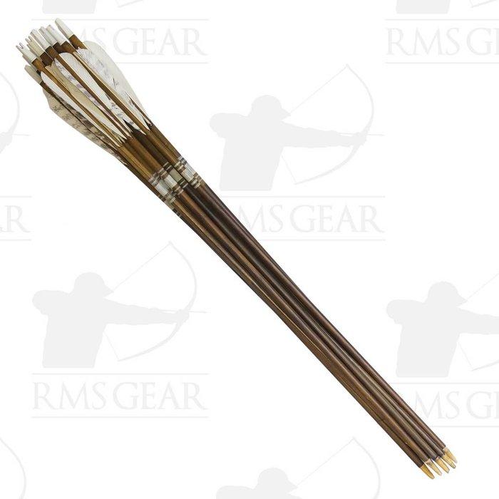 Used - 72# Fletched Wood Arrows - USED23PI
