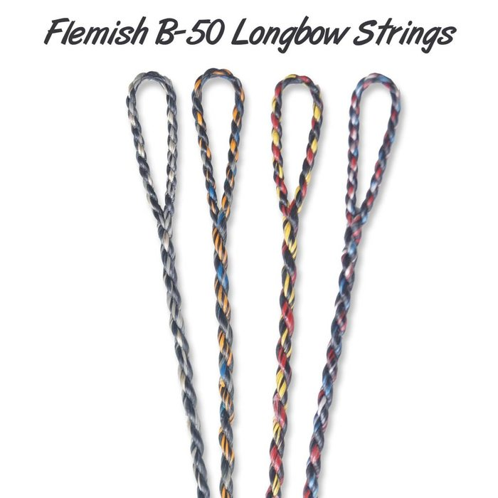 Flemish Twist B50 String Longbow