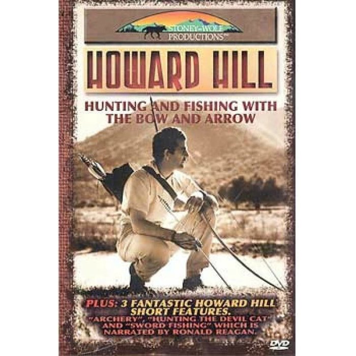 Used - Howard Hill Hunting & Fishing with the Bow & Arrow DVD