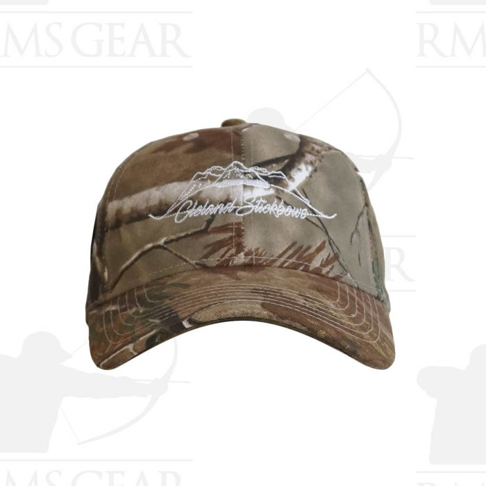 Cleland Stickbow Velcro Back Hat Camo
