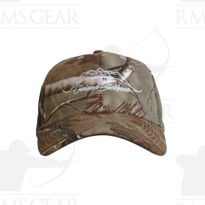 Velcro Back Hat Camo