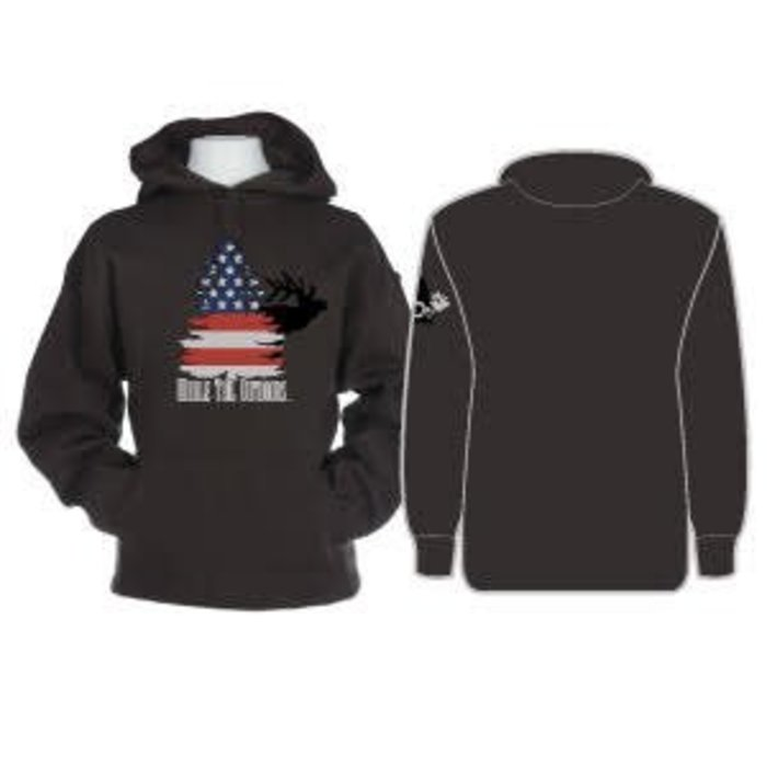 Whale Tail Outdoors Hoodies