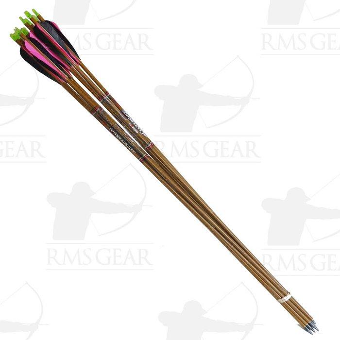 """Used - 31"""" Beman CS 500 Fletched Arrows - USED23BRO"""