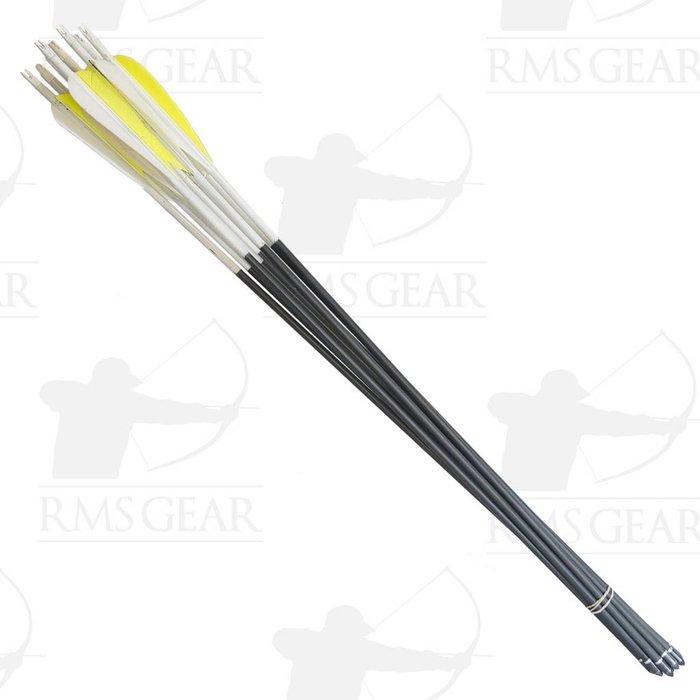 "Used - 28 3/4"" CX Predator 500 Fletched Arrows - USED13MA"