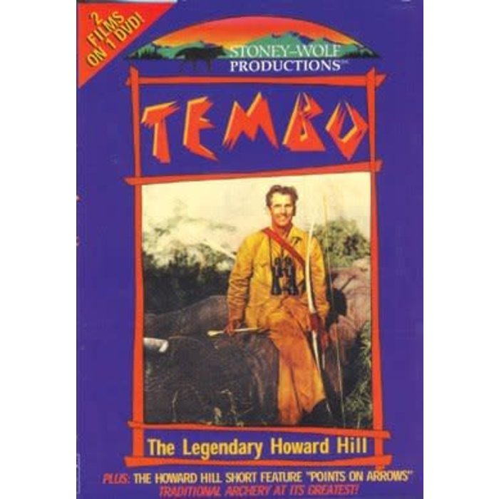Tembo, The Legendary Howard Hill DVD