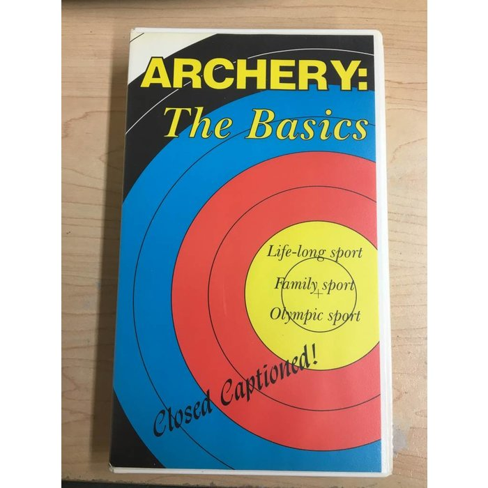 Archery: The Basics VHS