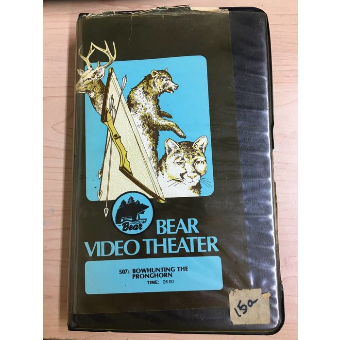 Bear Video Theater: Bowhunting the Pronghorn VHS