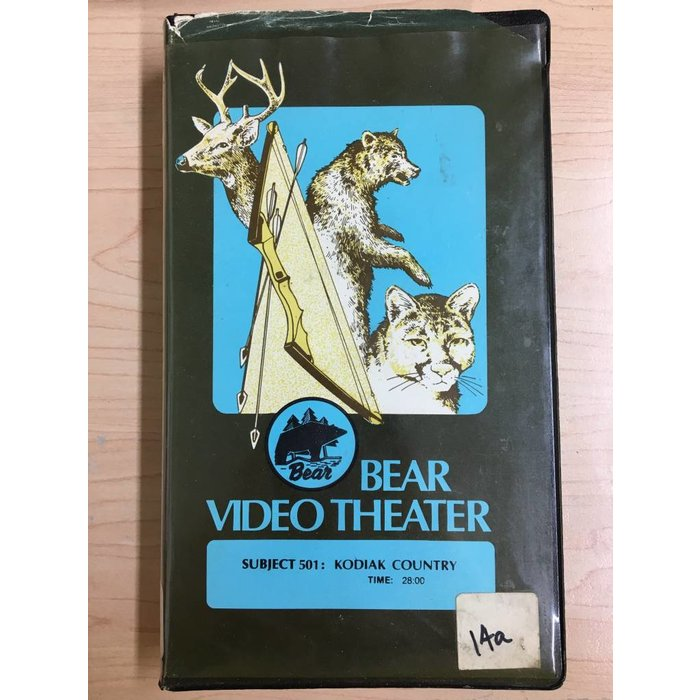 Bear Video Theater: Kodiak Country VHS