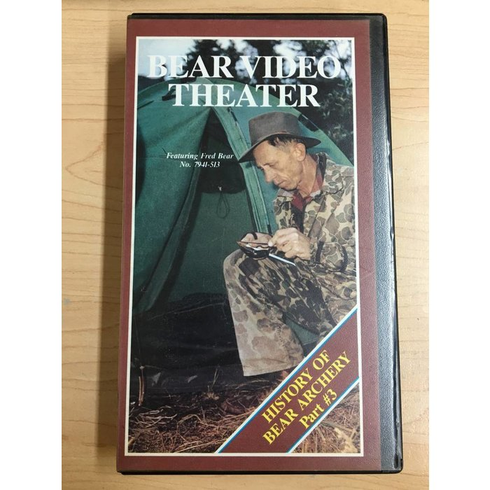 Bear Video Theater: History of Bear Archery #3 VHS