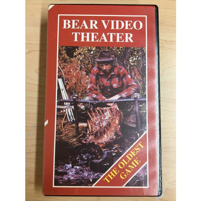 Bear Video Theater: The Oldest Game VHS