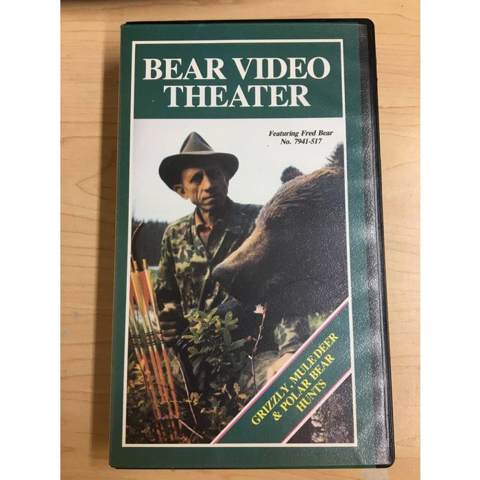 Bear Video Theater: Grizzly,  Muledeer  & Polar Bear Hunts VHS