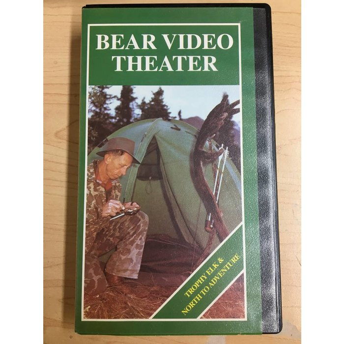 Bear Video Theater: Trophy Elk & North to Adventure VHS