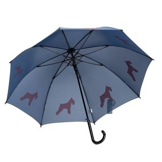 San Francisco Umbrella Schnauzer Umbrella Blue/Red