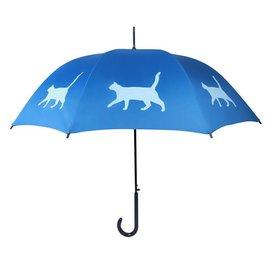 San Francisco Umbrella Cat - Blue/lt Blue