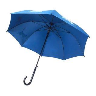 San Francisco Umbrella Animal Umbrella - Cat - Blue/lt Blue