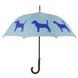 San Francisco Umbrella Beagle - Lt Blue/Blue