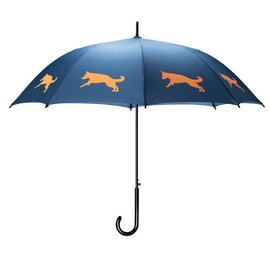 San Francisco Umbrella German Shepherd - Blue/Orange
